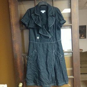 Liz Claiborne jean dress size 12